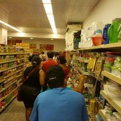 Photo taken at Super Líder Supermercados by Fagner d. on 12/31/2012