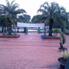 Photo taken at Masjid Jami' Al-Baitul Amien Jember by Dwi A. on 2/5/2014
