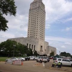 Photo taken at Louisiana State Capitol by Douglas D. on 4/16/2013