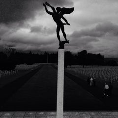 Photo taken at Henri-Chapelle American Cemetery and Memorial by David M. on 7/13/2014