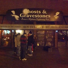 Photo taken at Ghosts and Gravestones Boston by Tony C. on 11/4/2012