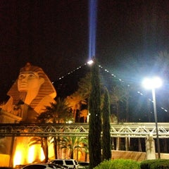Photo taken at Luxor Hotel & Casino by YPRJAVROS Y. on 7/5/2013