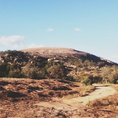 Photo taken at Enchanted Rock State Natural Area by Nicolas W. on 11/3/2012