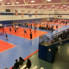 Photo taken at Great Lakes Volleyball Center by Al C. on 12/1/2012