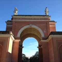 Photo taken at Villa Doria Pamphilj by Mauro B. on 1/29/2013
