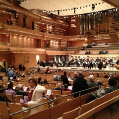 Photo taken at La Maison Symphonique de Montréal by Fatou M. on 2/22/2013