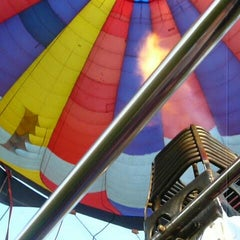 Photo taken at US Hot Air Balloon Team - Lancaster by Michael D. on 4/16/2015