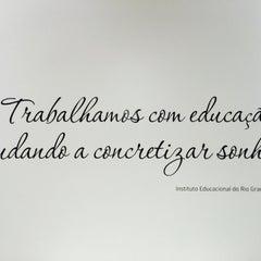 Photo taken at IERGS - Instituto Educacional do Rio Grande do Sul by Danielle S. on 10/1/2015