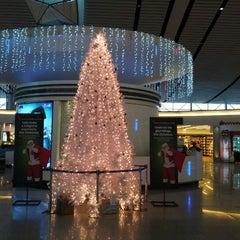Photo taken at Rajiv Gandhi International Airport (HYD) by Ravi V. on 12/31/2012