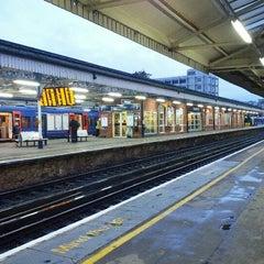 Photo taken at Basingstoke Railway Station (BSK) by Mark L. on 11/1/2012