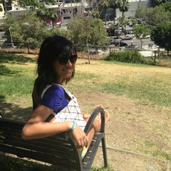 Photo taken at Tom Hansen's Bench (500 Days of Summer) by Phoebe K. on 5/1/2013
