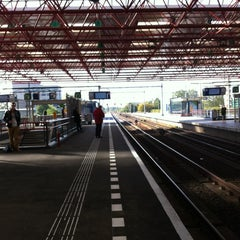 Photo taken at Station Almere Centrum by Tony v. on 10/11/2012