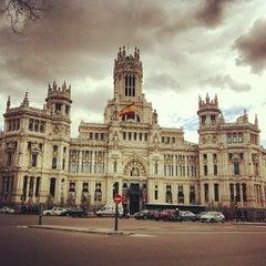 Photo taken at Palacio de Cibeles by Caner G. on 4/2/2013