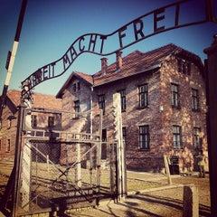 Photo taken at Muzeum Auschwitz-Birkenau by Caner G. on 10/21/2012