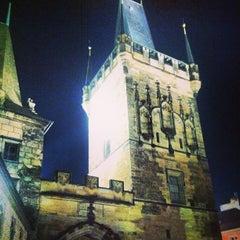 Photo taken at Staroměstská mostecká věž | Old Town Bridge Tower by Caner G. on 12/24/2012
