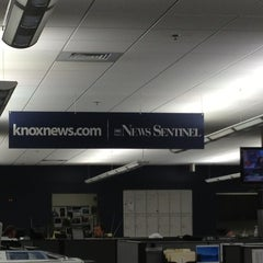 Photo taken at Knoxville News Sentinel by Evan W. on 1/15/2013