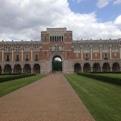 Photo taken at Lovett Hall (Rice University) by Wayne N. on 4/21/2013