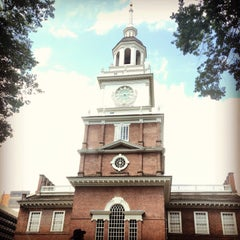 Photo taken at Independence Hall by Ally P. on 7/4/2013