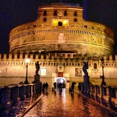 Photo taken at Castel Sant'Angelo by Sergey V. on 4/1/2013