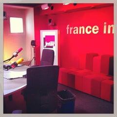 Photo taken at France Inter by Gü B. on 6/9/2013