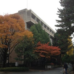 Photo taken at 京都大学 工学部3号館 by Hironori I. on 11/23/2012