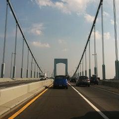 Photo taken at Throgs Neck Bridge by Kim C. on 7/19/2013