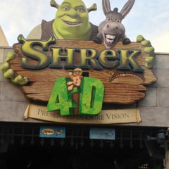 Photo taken at Shrek 4-D by I'M on 2/22/2013