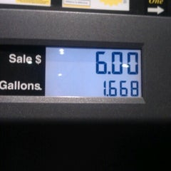 Photo taken at Fry's Gas Station by Krystal C. on 10/25/2012