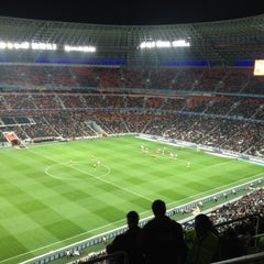 Photo taken at Donbass Arena / Донбасс Арена by Igor G. on 11/3/2012