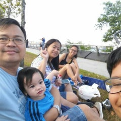Photo taken at Punggol Promenade by Mylin S. on 2/20/2015