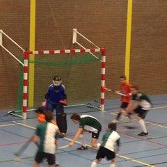 Photo taken at Sporthal De Akkers by Jeroen V. on 12/7/2013
