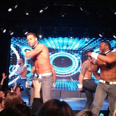 Photo taken at Chippendales Theatre at The Rio Vegas by Irene T. on 1/2/2016