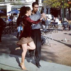 Photo taken at Plaza Dorrego by Ivan H. on 4/17/2013