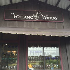 Photo taken at Volcano Winery by Arathena S. on 6/11/2015