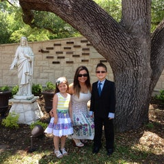 Photo taken at Mary Queen Catholic Church by Maxine B. on 4/20/2014