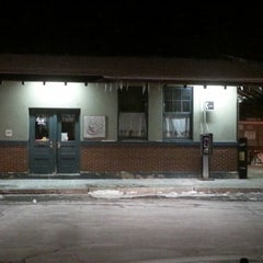 Photo taken at Franklin/Dean College MBTA Station by Peter W. on 1/2/2013