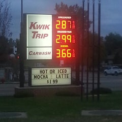 Photo taken at Kwik Trip by Scott B. on 10/17/2014