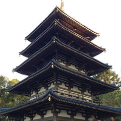 Photo taken at Japan Pavilion by Rafael F. on 1/12/2013