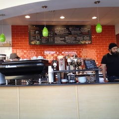 Photo taken at Ch'ava Café by John C. on 10/24/2012
