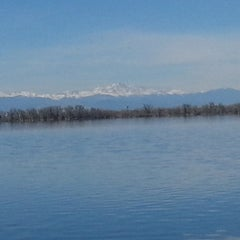 Photo taken at Barr Lake Boat Launch by Bill B. on 4/24/2014