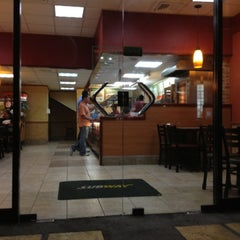 Photo taken at Subway by Kendall V. on 2/1/2013