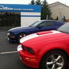 Photo taken at Team Blue Hand Car Wash by Jenna K. on 6/8/2013