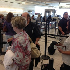 Photo taken at TSA Security Line by Bernard H. on 4/22/2013