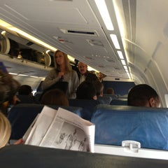 Photo taken at On a plane by Bernard H. on 1/6/2013