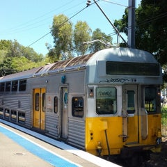Photo taken at Bankstown Station by Dean J. on 1/28/2014
