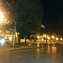 Photo taken at Avenue Habib Bourguiba by Emna K. on 2/1/2013