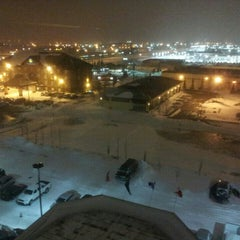 Photo taken at Four Points by Sheraton Calgary Airport by Randal B. on 12/3/2013