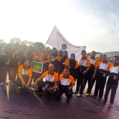 Photo taken at Stadium Mini Shah Alam by Mokhtar A. on 5/16/2014