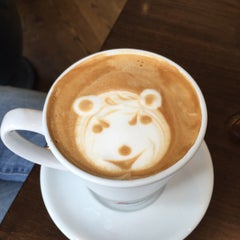 Photo taken at French Riviera Bakery & Cafe by Marc M. on 7/30/2015