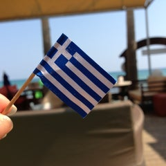 Photo taken at Iakinthos Resort by Luiza P. on 8/18/2013